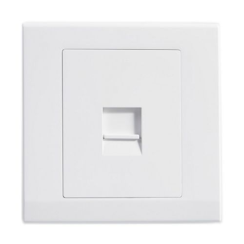 Simplicity White Screwless Single BT Master Telephone Socket 07740
